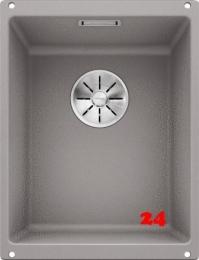 BLANCO Subline 320-U Silgranit® PuraDur®II Granitspüle / Unterbaubecken Ablaufsystem InFino mit Handbetätigung