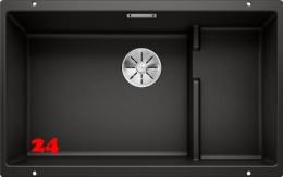 BLANCO Subline 700-U Level Silgranit® PuraDur®II Granitspüle / Unterbaubecken Ablaufsystem InFino mit Handbetätigung