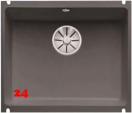 BLANCO Küchenspüle Subline 500-U Keramik PuraPlus® Keramikspüle / Unterbauspüle Ablaufsystem InFino mit Handbetätigung