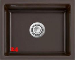 Systemceram KeraDomo MERA 50 U BASIC Keramikspüle / Unterbauspüle in 7 Standardfarben für die Küche
