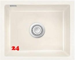 Systemceram KeraDomo MERA 50 U PREMIUM Keramikspüle / Unterbauspüle in 8 Sonderfarben für die Küche
