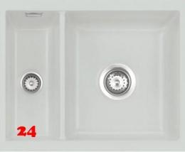 Systemceram KeraDomo MERA 60 U BASIC Keramikspüle / Unterbauspüle in 7 Standardfarben für die Küche