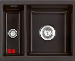 Systemceram KeraDomo MERA 60 U PREMIUM Keramikspüle / Unterbauspüle in 8 Sonderfarben für die Küche