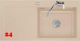 Systemceram KeraDomo MERA 100-SL-BASIC Keramikspüle / Einbauspüle in Standardfarben für die Küche