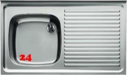BLANCO Spültisch ES 12x6-5 RE [576340] Gewerbespüle 1 Becken Auflage / Abdeckung für Spültisch