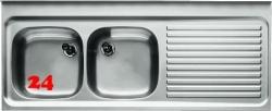 BLANCO Spültisch ZS 15x6-4-RE [576160] Gewerbespüle 2 Becken Auflage / Abdeckung für Spültisch