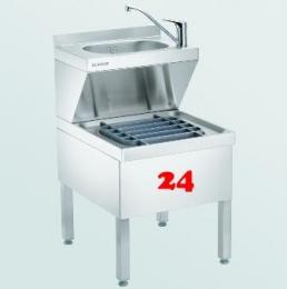 BLANCO HAU-P 5x7(850) [566255] Handwasch- und Ausgussbecken stehende Ausführung