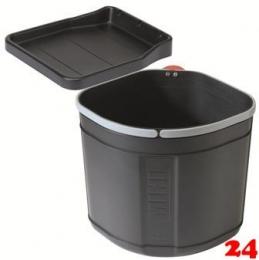 FRANKE Sorter Mini Einbau-Abfallsammler / Müllabfallbehälter in 1-fach Trennung hinter Drehtür