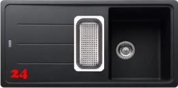 FRANKE Küchenspüle Basis BFG 651 Fragranit+ Einbauspüle / Granitspüle mit Drehknopfventil