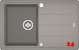x FRANKE Küchenspüle Basis BFG 611-78 Fragranit+ Einbauspüle / Granitspüle mit Drehknopfventil