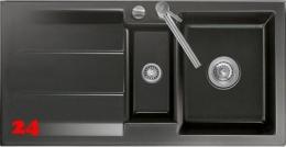 Systemceram KeraDomo GENEA 100-BASIC Keramikspüle / Einbauspüle in Standardfarben für die Küche