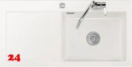 Systemceram KeraDomo MERA 100-SL-BASIC-FL Keramikspüle / Einbauspüle für die flächenbündige Montage