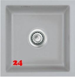 Systemceram KeraDomo MERA 40 U PREMIUM Keramikspüle / Unterbauspüle in 8 Sonderfarben für die Küche