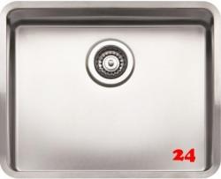 REGINOX Kansas 50x40-CC Einbauspüle Edelstahl mit Flachrand ohne Überlauf medizinischer Bereich