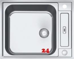 FRANKE Küchenspüle Argos G AGX 210 G Einbauspüle Slimtop / Flächenbündig mit Druckknopfventil