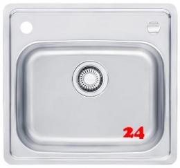 FRANKE Küchenspüle Euroform EFX 210 Slimtop / Flächenbündig Einbauspüle mit Drehknopfventil