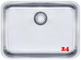 FRANKE Küchenspüle Epos EOX 110-50/35-UB  Unterbauspüle mit Zugknopfventil