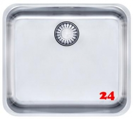 FRANKE Küchenspüle Epos EOX 110-45-UB  Unterbauspüle mit Zugknopfventil