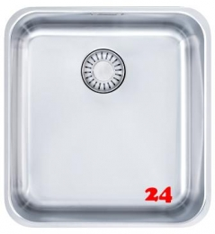 FRANKE Küchenspüle Epos EOX 110-36-UB Unterbauspüle mit Zugknopfventil