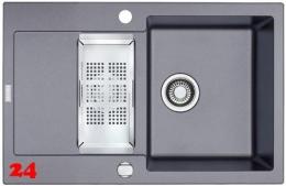 FRANKE Küchenspüle Maris MRG 651-78 Fragranit+ Einbauspüle / Granitspüle mit Drehknopfventil