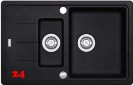 FRANKE Küchenspüle Basis BFG 651-78 Fragranit+ Einbauspüle / Granitspüle mit Drehknopfventil