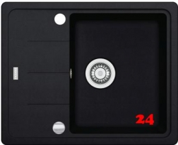 x FRANKE Basis BFG 611-62 Fragranit+ Einbauspüle / Granitspüle mit Drehknopfventil