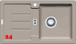 FRANKE Strata STG 614-78 Fragranit+ Einbauspüle / Granitspüle mit Stopfen- oder Drehknopfventil