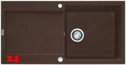 FRANKE Maris MRG 211-100 Fragranit+ Einbauspüle / Granitspüle Flächenbündig mit Drehknopfventil
