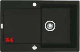 FRANKE Maris MRG 211-77 Fragranit+ Einbauspüle / Granitspüle Flächenbündig mit Drehknopfventil