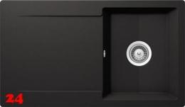 SCHOCK Küchenspüle Epure D-100 Cristalite® Granitspüle / Einbauspüle Basic Line in 4 Farben mit Drehexcenter