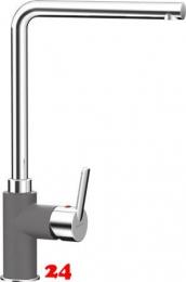 SCHOCK Küchenarmatur Sono Cristalite® Basic Line Einhebelmischer Festauslauf 360° schwenkbarer Auslauf in 4 Farben