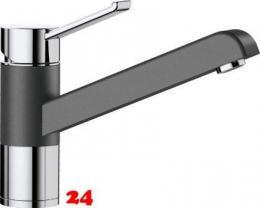 BLANCO Küchenarmatur Zenos Silgranit®-Look Einhebelmischer mit Festauslauf 360° schwenkbarer Auslauf in 9 Farben