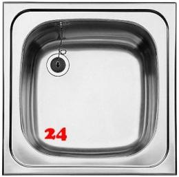 BLANCO Küchenspüle TOP EE 5x5-4,2 Edelstahlspüle / Einbauspüle Ablauf mit Gummistopfen