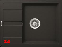 SCHOCK Küchenspüle Manhattan D-100 Cristalite® Granitspüle / Einbauspüle Basic Line in 4 Farben mit Drehexcenter