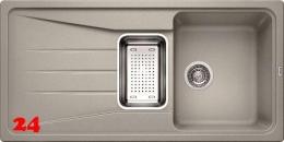 BLANCO Küchenspüle Sona 6 S Silgranit® PuraDur®II Granitspüle / Einbauspüle mit Handbetätigung in 9 Farben