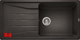 BLANCO Küchenspüle Sona XL 6 S Silgranit® PuraDur®II Granitspüle / Einbauspüle mit Handbetätigung in 9 Farben