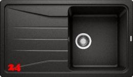 BLANCO Küchenspüle Sona 5 S Silgranit® PuraDur®II Granitspüle / Einbauspüle mit Handbetätigung in 9 Farben