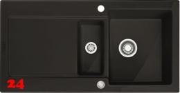 FRANKE Küchenspüle Maris MRK 651-100-Keramik Fraceram Einbauspüle / Keramikspüle mit Druckknopfventil