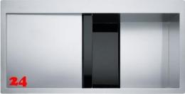 FRANKE Crystal CLV 214 Schwarz-FL