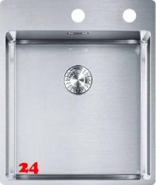 FRANKE Küchenspüle Box BXX 210-40 A Slimtop / Flächenbündig Einbauspüle mit Druckknopfventil