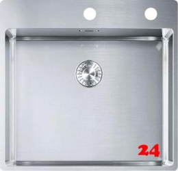 FRANKE Küchenspüle Box BXX 210-50 A Einbauspüle Slimtop / Flächenbündig Druckknopfventil