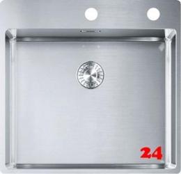 FRANKE Küchenspüle Box BXX 210-50 A Einbauspüle Slimtop / Flächenbündig Drehknopfventil