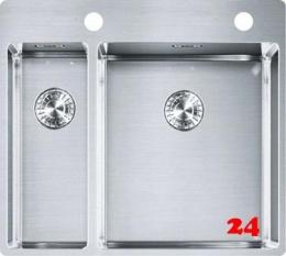 FRANKE Küchenspüle Box BXX 260-36-16 A Einbauspüle Slimtop / Flächenbündig Druckknopfventil