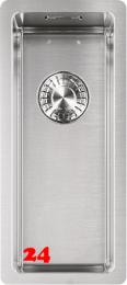 FRANKE Küchenspüle Box BXX 210/110-16 Einbauspüle 3 in 1 Siebkorb als Druckknopfventil