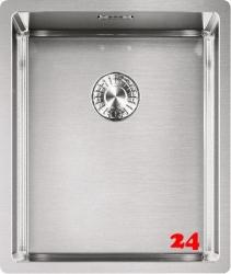FRANKE Küchenspüle Box BXX 210/110-34 Einbauspüle 3 in 1 Siebkorb als Zugknopfventil