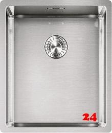 FRANKE Küchenspüle Box BXX 110-34-UB  Unterbauspüle Siebkorb als Stopfenventil