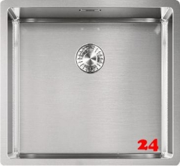 FRANKE Küchenspüle Box BXX 110-45-UB  Unterbauspüle mit Zugknopfventil