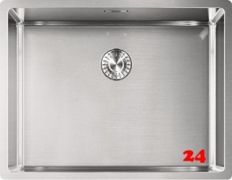 FRANKE Küchenspüle Box BXX 210/110-54 Einbauspüle 3 in 1 Siebkorb als Zugknopfventil