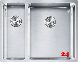 FRANKE Küchenspüle Box BXX 160-34-16-UB Einbauspüle / Unterbauspüle mit Druckknopfventil