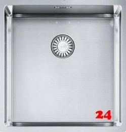 FRANKE Küchenspüle Box BXX 110-40-UB  Unterbauspüle Siebkorb als Stopfenventil